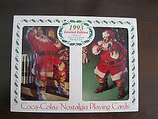 Coca-Cola 1993 Limited Edition Playing Cards AND COKE TIN