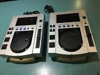 PIONEER CJD-100S DIGITAL PERFORMANCE DJ EQUIPMENT X2