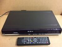 TOSHIBA DVD PLAYER RECORDER HDMI