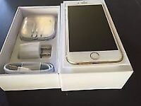 iPhone 6 64GB Gold O2 with original box EXCELLENT CONDITION