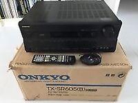 Onkyo TX-SR605 AV Receiver HDMI, 2X Optical, 7in Channel