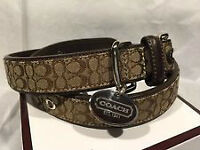Large Authentic COACH collar NEW!!