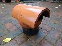 2 x Chimney Pot Insert / Bonnet