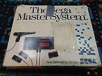 sega master system in original box
