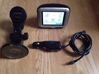 SatNav - TomTom Go 300 with accessories