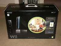 Wii fit console + Zumba + balance board and all accessories included (unboxed)