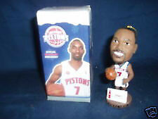DETROIT PISTONS BOBBLEHEADS AND ORNAMENTS,$80 FOR ALL 8 Windsor Region Ontario image 1
