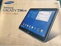 Samsung galaxy tab 4 16gb Wi-Fi +Cellular (unlocked) 4G good use condition boxed