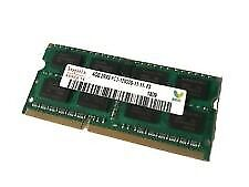 x2 4GB DDR3 RAM chips for laptops £15 each ONO