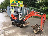 1.5ton Mini Excavator with breaker or JCB 3CX and operator for hire
