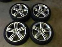 Golf r alloys 5x100 18""