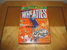 TIGER WOODS WHEATIES BOX AND DVD GAME-BOTH FOR $45