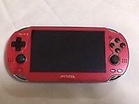PS vita cosmic red edition (new)