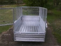 Mesh Trailers Box Trailers ( FOR HIRE ) Reading based