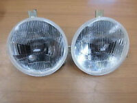 BRAND NEW GENUINE CARELLO FRONT LIGHTS ULTRA RARE FORD ESCORT MK1 MK 2 RS1800 RS 1600 MEXICO RS2000
