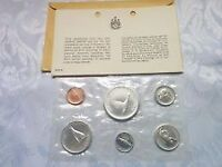1967 SILVER Canada FACTORY SEALED  6 COIN SET ONLY 55$