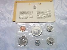 1967 SILVER Canada FACTORY SEALED  6 COIN SET ONLY 55$ London Ontario image 1