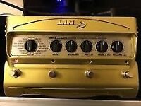 Line 6 DM4 Distortion Stompbox Modeller Guitar Effects Pedal, PSU included