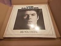 Liam Gallagher - As You Were - Deluxe White Vinyl Box Set CD & book - New Sealed