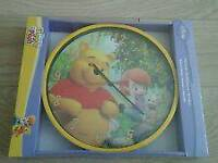 Disney Winnie the Pooh Wall Clock. New and Sealed