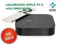 Apple TV 2 Jailbroken with XBMC/KODI