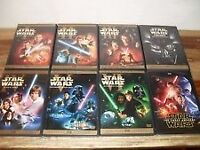 Star Wars 1-7 on DVD