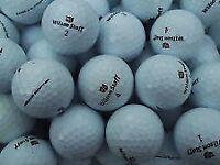 70 mix wilson staff golfballs