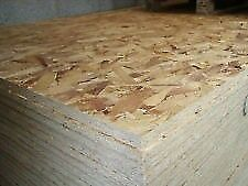 New 8ftx4ft(2400mmx1200mm) OSB3/Sterling Sheets-Various Thicknesses