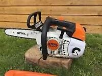 Top handle stihl saw