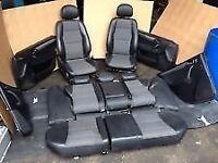 Mercedes Benz Half Leather Interior Seats C Class W203 Saloon 2000-2007