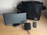 Bose Sounddock Portable IPOD/IPHONE Speaker, Remote, Travel Case