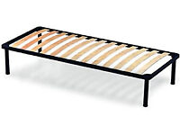 FREE SMALL DOUBLE BED FRAME BLACK METAL