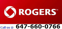 Rogers High Speed Internet, TV & H. Phone . Free 210$ Credit