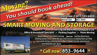 SMART MOVERS 853-9644 For Quickest service to Ontario / Quebec