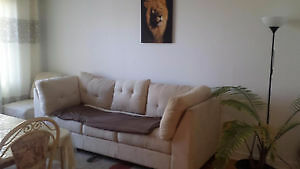 Furnished! 4 1/2 apart. in Lasalle for 5-6 month rental
