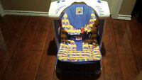 Very gently used fisher price fold up swing