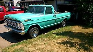 1968 FORD F100 ALSO 3 CLASSIC CARS TO VIEW