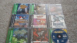Playstation with 18 Games + Controllers + Multitap London Ontario image 1