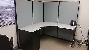Cubicle Desk for Office Kitchener / Waterloo Kitchener Area image 1