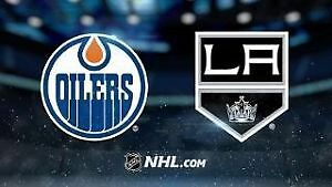 Oilers tix vs. Los Angeles Kings