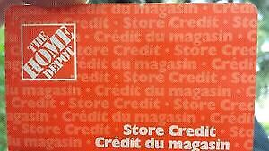 Home Depot Gift Card -$30 Value for $22!