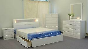 DOUBLE/QUEEN PLATFORM BED SALE
