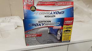 Rust-Oleum Epoxy 2 1/2 garage kit