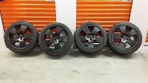 17 pouce MERCEDES AUDI VOLKS ----------5x112 avec pneus neufs