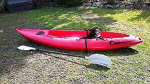 Red seak swift kayak