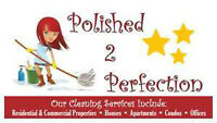 POLISHED 2 PERFECTION - RESIDENTIAL/COMMERCIAL CLEANING SERVICE
