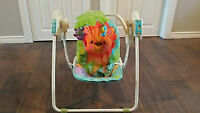 Fisher Price fold up swing