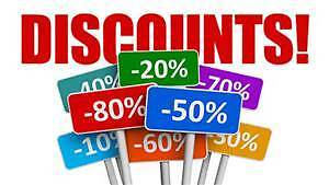 Connie's Discount To All !!!!