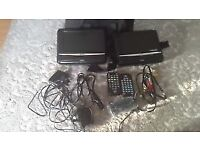 Very good condition portable dvd player Bush 7""