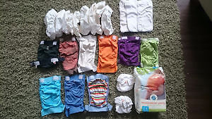Lot of reusable cloth gDiapers